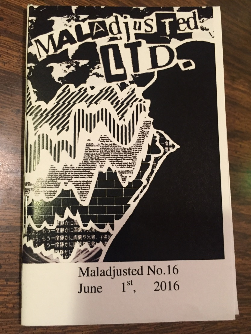 Maladjusted Issue 16 cover