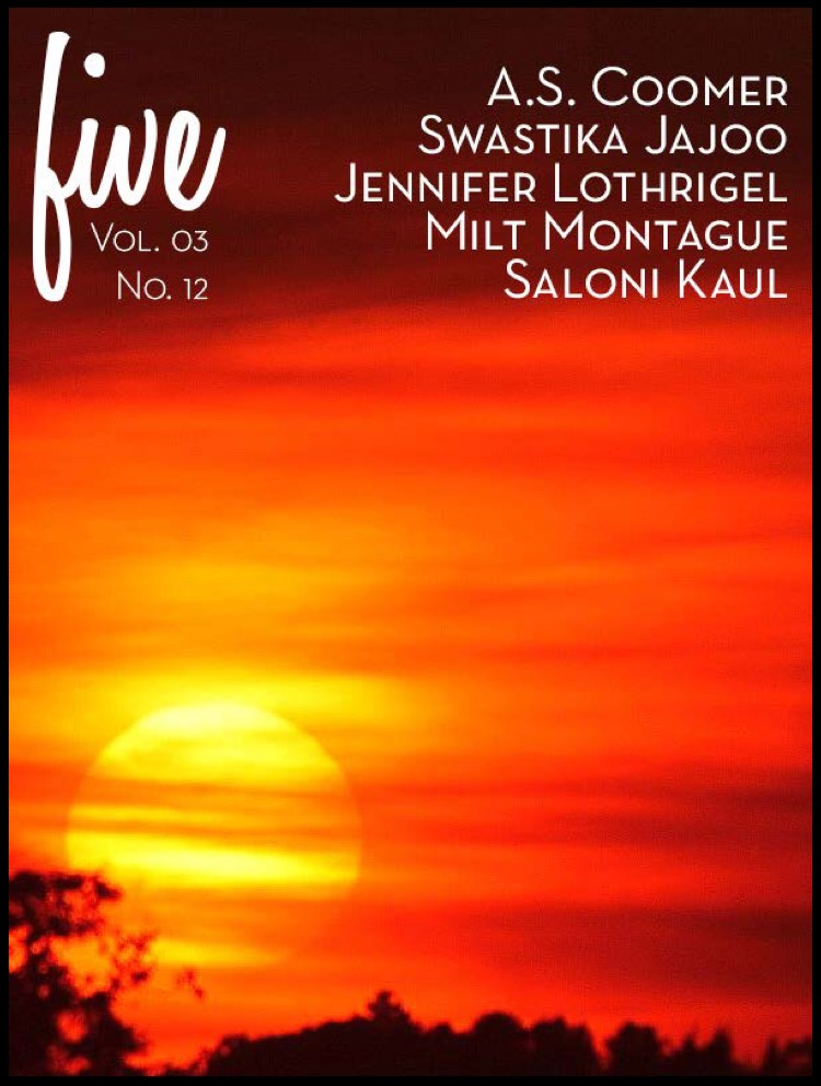 FIVE Poetry Vol 03 No 12 front cover