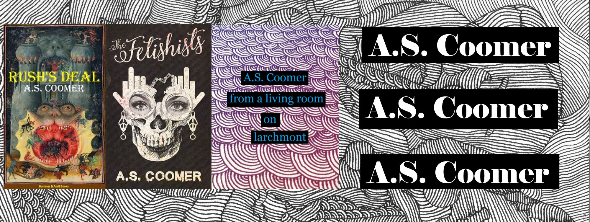 A.S. Coomer: Writer