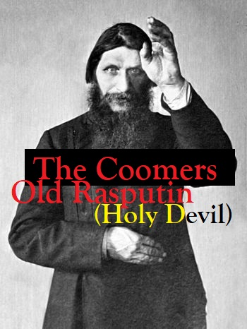 The Coomers, Old Rasputin (Holy Devil) single cover.jpg