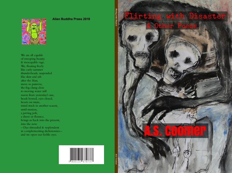 Flirting with Disaster & Other Poems, A.S. Coomer, updated jacket