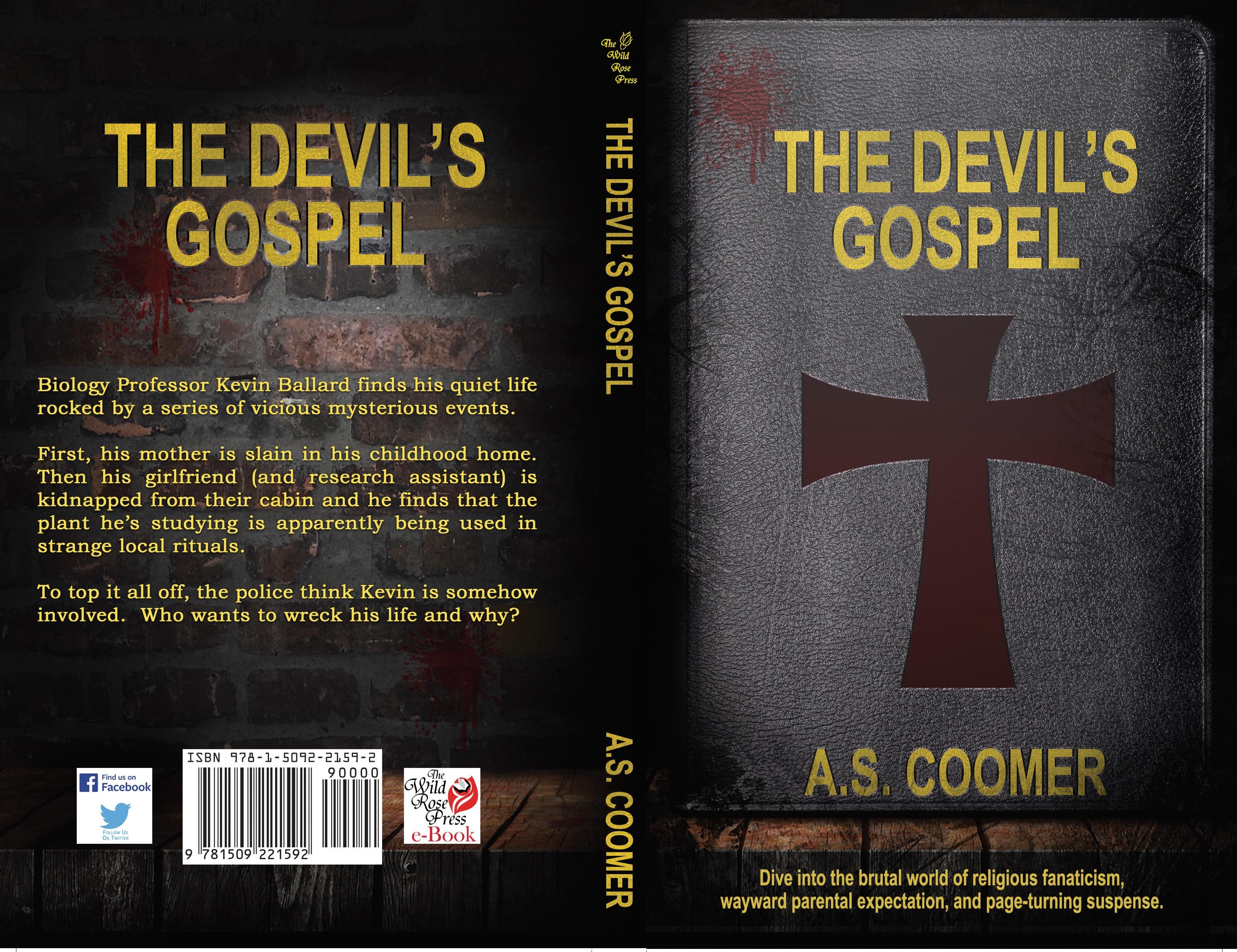 The Devil's Gospel, A.S. Coomer, full jacket
