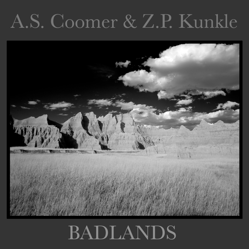 Badlands, A.S. Coomer and Z.P. Kunkle, front cover 1.1