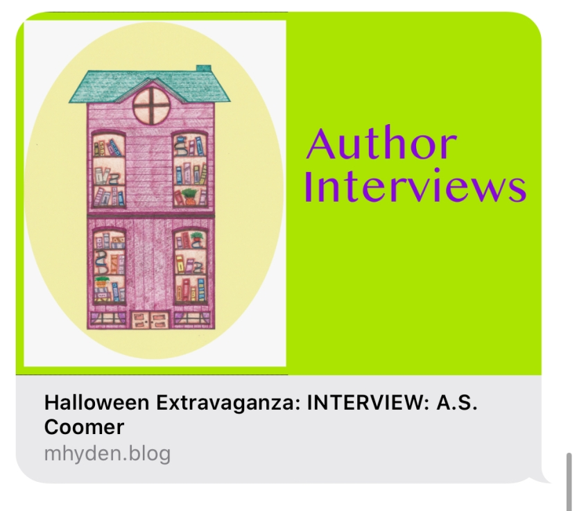 Meghan's House Of Books A.S. Coomer interview